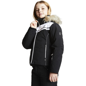 Dare 2b Estimate Chaqueta Aislante Impermeable Niños, black/white